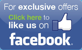 Like Us on Facebook to Receive the Latest Deals!
